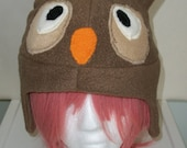 Brown Derpy Owl Hat