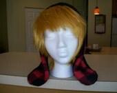 Fleece Rabbit Hat Custom