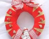 Snowman Christmas Wreath  (12)