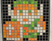 Link from The Legend of Zelda Mosaic Wall Art Stained Glass Pixel Art TAKING ORDERS