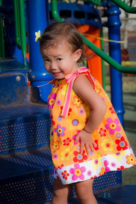 Girls Pillowcase Dress . Pillowcase Dress . Princess Dress . 12 months