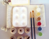 DIY Wooden Apples and Paint Kit in a Bag Arts and Crafts Kit for Kids