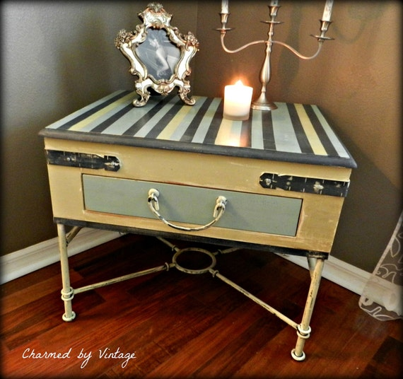Whimsical Side Table (RESERVED for Vivian)