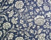 "Italian Paper - CARTA VARESE Design 284 - ""Blumenteppich blue"""