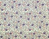 "Italian Paper - CARTA VARESE Design 712 - ""little roses blue"""