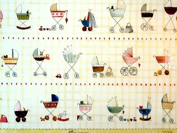 """Designer Paper - Silke Leffler Design GP12059 """"KINDERWAGEN"""""""