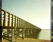 powder point bridge yellows and black- duxbury beach