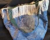 OOAK Reversible Fringed Large Bag