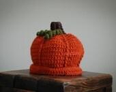 LilySong PUMPKIN HATS Crochet PATTERN (in 7 sizes)