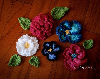 LilySong FLORA I EMBELLISHMENTS Crochet Pattern