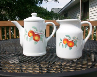 Ceramic Water Pitcher and Coffee/Tea pot