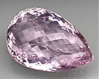 Extremely 100% natural unheated/untreated top pink amethyst 82.28 carat Drilled