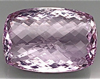 100%  pink amethyst unheated/untreated IF 72.04 carat DRILLED