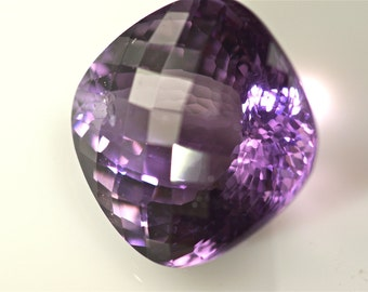 100% natural unheat/untreat purple amethyst  drilled 35 cts