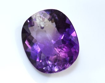 100% natural unheated/untreated purple amethyst drilled 20cts