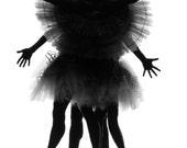 B&W Dance photo in 8x10 matt, signed by artist