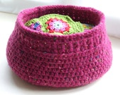 Crochet Storage Basket Pattern (pdf)