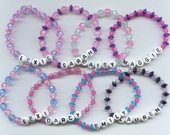 Custom Name Bracelet any name and any colors