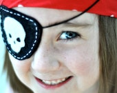 Felt Pirate Eye Patch DIY PRINTABLE PDF Sewing Pattern by Sew Love The Day