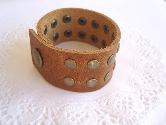 Casual leather bracelet