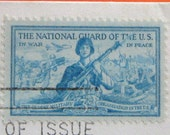 The National Guard Of The U.S. First Day Cover 1953