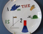 Word Game Plate/Taste Setter A Bird In The Hand