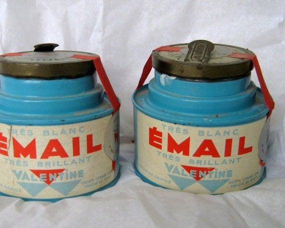 Valentine Paint Tin, 1920s , Unopened