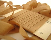 Kraft Seam Binding with Vintage Flash Card - 3 yards