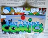 Book Cover Wallet- Walt Disney Comics Donald Duck