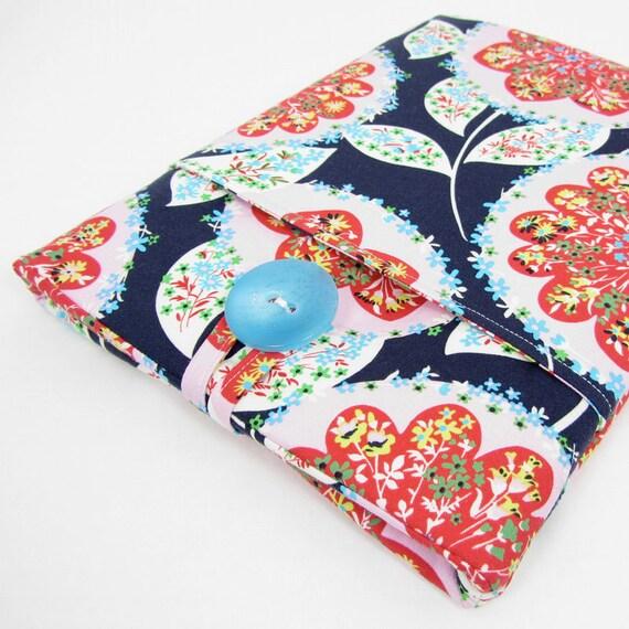 iPad Case, iPad Sleeve, iPad 2 Case, iPad 3 Case, iPad 2 Sleeve, iPad 3 Sleeve, iPad 4 Case, iPad 4 Sleeve - Geometric Flowers.