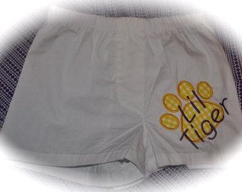 LSU - toddler boxer shorts