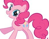RESERVED for TASHERA Pinkie Pie - My Little Pony: Friendship is Magic Crochet Plush