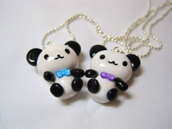 how to make clay charms for necklaces
