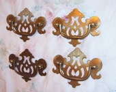 Vintage ,Governor Winthrop Bail Brass Drawer Pull Chippendale Hardware Antique Victorian Crafter Drawer Pulls,  Metal,  Ornate