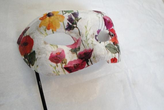 Flora: Flower Masquerade Mask