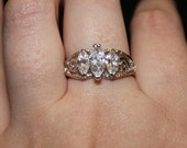 Tri-Stone Ring - Size 10