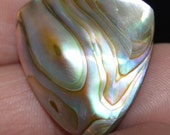 Custom Guitar Pick Abalone Hand made Real abalone shell pick   ALE02