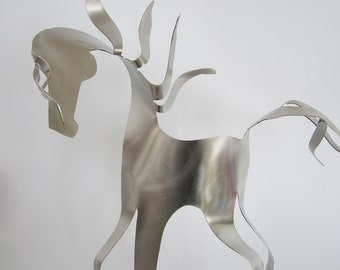 Con Brio  -  Horse - Stainless Steel Sculpture Gift