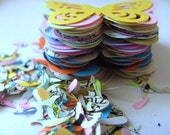 100,Paper butterflies, MIX, confetti, scrap booking, paper craft, card making, tags,  by DoodleDee2