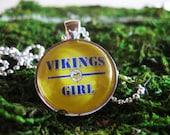 Minnesota Vikings Pendant Necklace