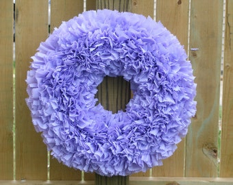 Lavender Wreath - Purple Wreath - Spring Wreath - Summer Wreath - Outdoor Wreath - Door Wreath --- Spring Wreath - Waterproof Wreath