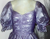 60's/70's Sheer Purple Vintage Cinderella Dress