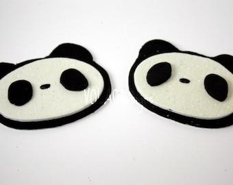 Rave wear panda pasties kawaii