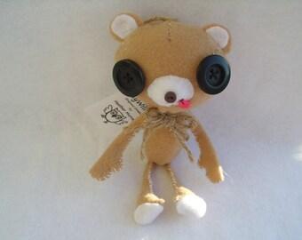 Cute Kuma Bear Plush Ornie Stuffed Animal Plushie Softie Ornament Teddy Bear Kawaii Gift