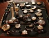 Huge lot of broken watches