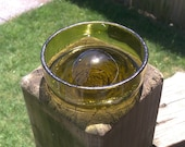 Recycled Wine Bottle Dish