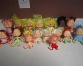 Lot of Vintage Strawberry Shortcake Dolls-17 dolls