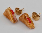cheese and ham toastie  earrings