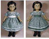 INSTANT Download -Sewing Pattern CW-2 for American Girl Doll Addy, Marie Grace or Cecile