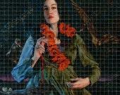 """Gail Potocki """"Through the Never"""" LSD Acid Blotter Art Print"""